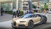 Siêu phẩm Bugatti Chiron màu lạ đầu tiên của giới nhà giàu tại Đài Loan