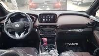 Lần đầu diện kiến nội thất của Hyundai Santa Fe 2019 bản full option