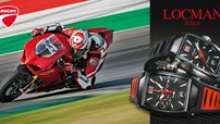 """Tín đồ Ducati """"phát sốt"""" với đồng hồ Locman phiên bản Ducati siêu đẹp"""