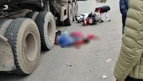 Hải Dương: Va chạm với xe container, hai vợ chồng đi Honda SH tử vong tại chỗ