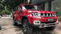 BAIC BJ40L Plus 2018 giống xe Jeep và Hummer bất ngờ xuất hiện tại Việt Nam
