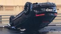 """Lamborghini Urus lật """"ngửa bụng"""" tại thiên đường siêu xe Dubai"""