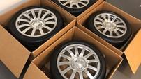 Bộ bánh xe cũ của Bugatti Veyron được rao bán với giá hơn 2,3 tỷ đồng