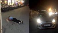 Tài xế taxi nghi bị cướp cứa cổ, nằm tử vong cách xe 5 m trước cửa sân vận động Mỹ Đình