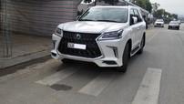 """""""Chuyên cơ mặt đất"""" Lexus LX570 Super Sport hơn 10,2 tỷ đồng của doanh nhân vùng cao biên giới Lào Cai"""