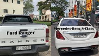 """Sau Ford Ranger biển """"ngũ quý"""" 9, biker Sài thành tậu thêm Mercedes-Benz S-Class biển """"ngũ quý"""" 7"""