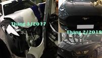 """Ford Mustang 2015 """"nát đầu"""" tại Huế vào năm 2017 đã tái xuất với ngoại thất long lanh như mới"""