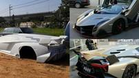 Sững sờ trước hình ảnh siêu xe Lamborghini Veneno được Trung Quốc làm nhái y như thật