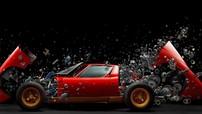 """Bức ảnh chiếc Lamborghini Miura SV 1972 """"tan rã"""" này sẽ khiến bạn rớt hàm vì ấn tượng"""