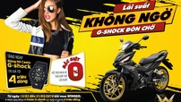 Honda Việt Nam tặng đồng hồ G-Shock cho khách hàng mua Honda Winner 150
