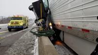 Hình ảnh vụ tai nạn của chiếc Chevrolet Cruze này gây choáng vì người lái chỉ bị thương nhẹ