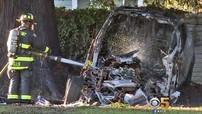 Vụ tai nạn kinh hoàng này càng khẳng định độ an toàn của dòng xe điện Tesla