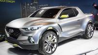 Xe bán tải Hyundai Santa Cruz sẽ có thiết kế độc đáo và cá tính hơn phiên bản concept