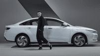 Geely GE11 - Sedan điện thuần chủng hoàn toàn mới ra mắt hình ảnh chính thức đầu tiên