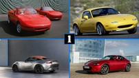 Nhìn lại 30 năm của mẫu Mazda MX-5 huyền thoại qua hình ảnh