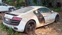 """Siêu xe Audi R8 bị tịch thu """"chết dần chết mòn"""" tại trụ sở cảnh sát"""