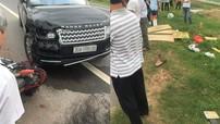 Hưng Yên: SUV hạng sang Range Rover va chạm với xe máy khiến 2 vợ chồng thương vong