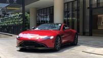 Thêm siêu xe Aston Martin V8 Vantage 2018 chính hãng vào Sài thành