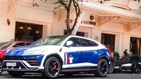 """""""Dằn mặt"""" dàn siêu xe của các đại gia Sài thành, Minh """"Nhựa"""" tăng tốc mãnh liệt siêu SUV Lamborghini Urus"""