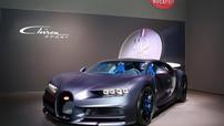Cận cảnh chiếc Bugatti Chiron Sport kỷ niệm sinh nhật lần thứ 110 của hãng siêu xe Pháp