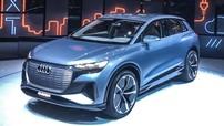Audi bất ngờ vén màn Q4 E-tron, chuẩn bị bán vào năm sau