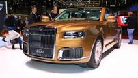 """Bộ đôi """"Rolls-Royce của Nga"""" phục vụ Tổng thống Vladimir Putin tỏa sáng tại Geneva"""