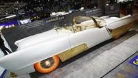 Đây là chiếc xe mạ vàng có lốp phát sáng kỳ dị nhất Triển lãm Geneva 2019