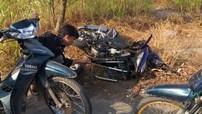 Bình Dương: Thanh niên đi Honda Winner 150 chạy tốc độ cao rồi tự ngã ra đường
