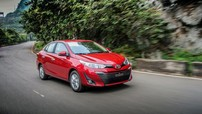 Toyota Vios sụt giảm doanh số trầm trọng trong tháng 2/2019, bị Hyundai Accent bỏ xa
