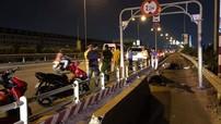 Sài Gòn: Nam thanh niên đâm dải bê tông ngăn ô tô đi vào làn xe máy, tử vong tại chỗ