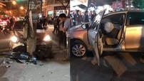 Hải Dương: Người lái Toyota Vios vượt đèn đỏ, đâm liên hoàn 2 xe máy khiến 3 người thương vong