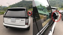 Sững sờ với dàn xe Range Rover hơn 35 tỷ đồng bị kẻ gian vặt mặt gương tại bãi đỗ xe chùa Yên Tử