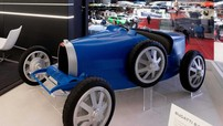 Bugatti Baby II - Mẫu xe giới hạn tốc độ 20 km/h dành cho trẻ em có giá gần... 800 triệu Đồng