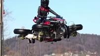 Lazareth LMV 496 - Siêu mô tô đầu tiên vừa có thể chạy, vừa có thể bay, giá 13 tỷ đồng