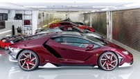 Đại gia Nhật Bản cho sơn lại bộ mâm độ của siêu xe cực hiếm Lamborghini Centenario