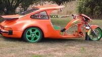 Porsche 911 Turbo độ ba bánh độc nhất được rao bán