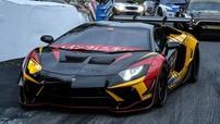 Ngắm chiếc Lamborghini Aventador độ body kit Liberty Walk trông như xe đua