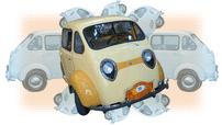 Triver Rana 500 - Một chiếc xe tí hon mà bạn chưa bao giờ nghe tên qua