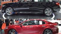 """""""Mục sở thị"""" cặp đôi Honda Accord 2019 và Toyota Camry 2019 sắp ra mắt Việt Nam tại triển lãm Thái Lan"""