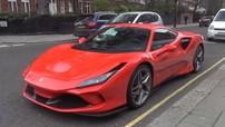 Đây là sức hút của siêu xe Ferrari F8 Tributo khi lần đầu tiên đặt chân đến Anh