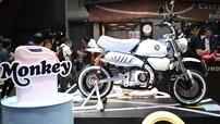 """Honda Monkey màu """"kem bạc hà"""" kịch độc được Honda đưa tới triển lãm xe Bangkok 2019"""