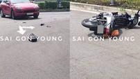 Thủ Đức: Tông vào SUV hạng sang Porsche, nam thanh niên 22 tuổi điều khiển xe máy tử vong