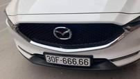 """Chiếc Mazda CX-5 mang biển số """"ngũ quý 6"""" được giới thạo xe định giá hơn 3 tỷ đồng"""