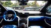"""Siêu SUV Lamborghini Urus thứ 15 về Campuchia với ngoại thất và """"nội y"""" đồng màu rất đẹp mắt"""