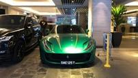 Ferrari 812 Superfast hơn 24 tỷ đồng với bộ cánh siêu độc đã được bàn giao cho đại gia Singapore
