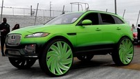 Diện kiến chiếc Jaguar F-Pace độ màu xanh lá cây chói mắt nhất quả đất