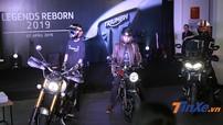 Triumph Scrambler 1200, Speed Twin 1200 và Tiger 800 ra mắt Việt Nam, giá khởi điểm 349 triệu đồng
