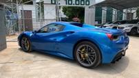 Doanh nhân Bình Phước gây choáng khi mua thêm siêu xe Ferrari 488 Spider