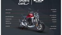 Chi tiết 16 trang bị độ chính hãng cho naked bike hoài cổ Honda CB300R