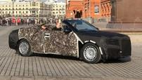 """Phiên bản mui trần của """"Rolls-Royce nước Nga"""" Aurus Senat Sedan bị bắt gặp trên đường phố"""